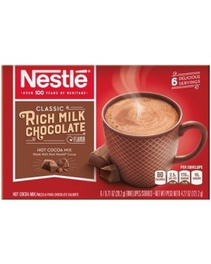 Nestle Rich Milk Chocolate Hot Cocoa Mix 4.27oz