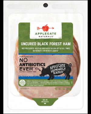 Applegate Ham Black Forest Uncured 7oz