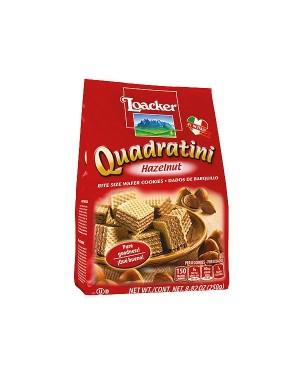Loacker Quadratini Hazelnuts Bite Size 8.82oz