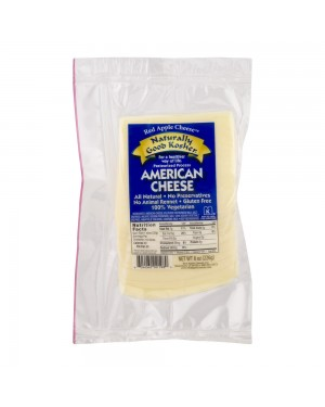 Naturally Good Kosher American Cheese 8oz