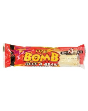 The Bomb Red Chile Beef Bean & Cheese Burrito 14oz