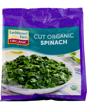 Earthbound Organic Spinach 8oz