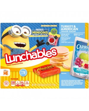 Lunchables Turkey & American Cracker Stackers 2.9oz