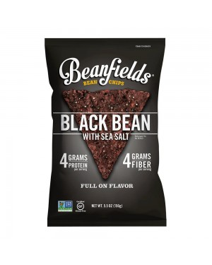 Beanfields Black Bean With Sea Salt 5.5oz