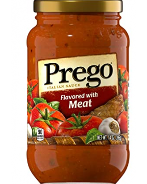 Prego Italian Sauce Flavored with Meat 14 oz