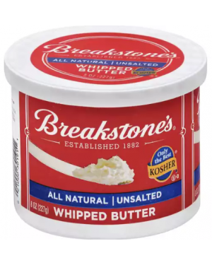 Breakstone's All Natural Unsalted Whipped Butter 8oz