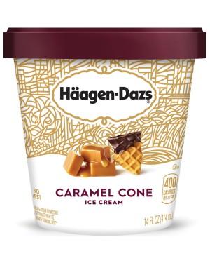 Haagen Dazs Caramel Cone Ice cream 14 oz