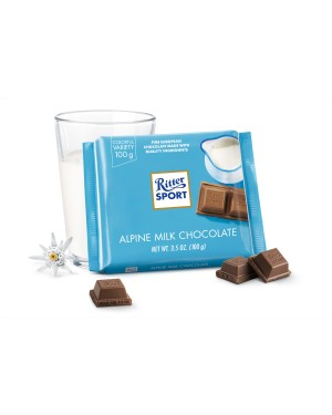 Ritter Sport Alpine Milk Chocolate 3.5oz