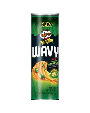 Pringles Wavy Jalapeño 4.8oz