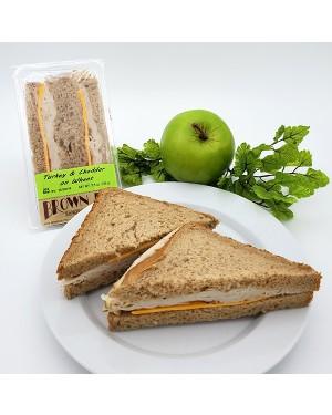 Brown Bag Turkey & Cheddar On Wheat