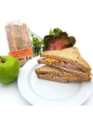 Brown Bag Ham & Cheddar On Wheat