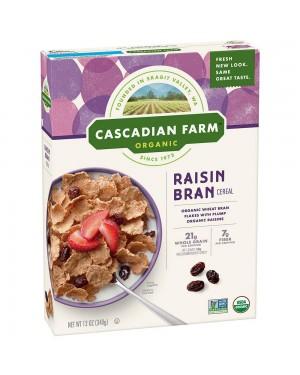 Cascadian Farm Raisin Bran
