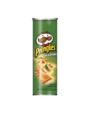 Pringles Jalapeño Flavored 5.5 oz
