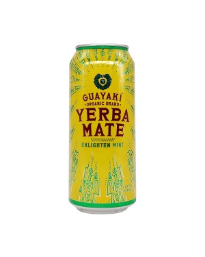 Guayaki Yerba Mate Enlighten Mint 15.5oz