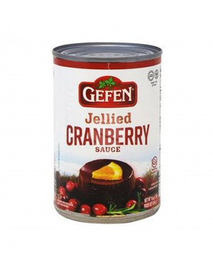 Gefen Jellied Cranberry Sauce 16oz