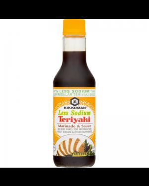 Kikkoman Less Sodium Teriyaki Marinade & Sauce 10oz