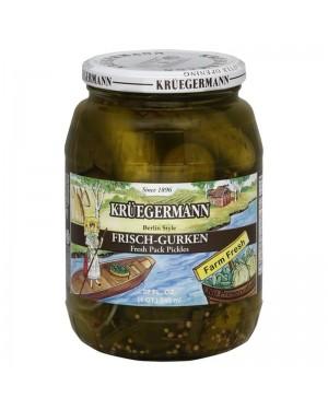 Kruegermann Frisch Gurken Pickles 32oz