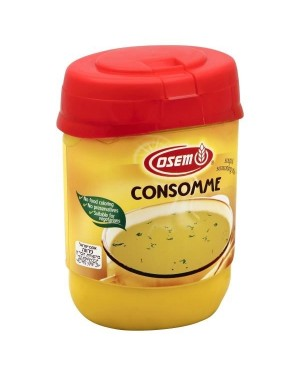 Osem Consomme Artificially Chicken flavored soup & seasoning mix 14oz