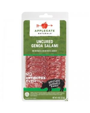 Applegate Naturals Uncured Genoa Salami 4oz