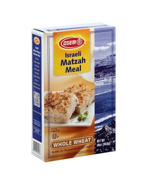Osem Israeli Matzah Meal Whole Wheat KOSHER 16OZ