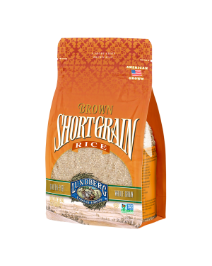 LUNDBERG BROWN SHORT GRAIN RICE 2LBS