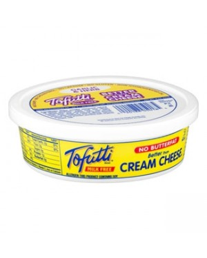 Tofutti Better Than Cream Cheese Plain 8oz