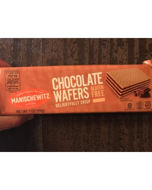 Manischewitz Chocolate Wafers GF 7oz
